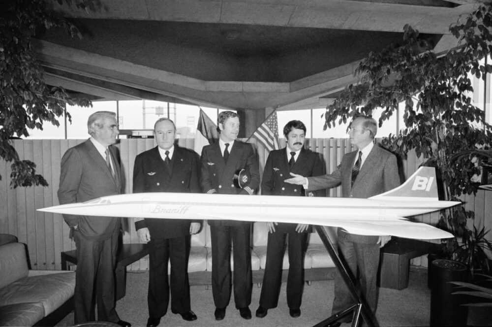 Braniff Concorde cooperation