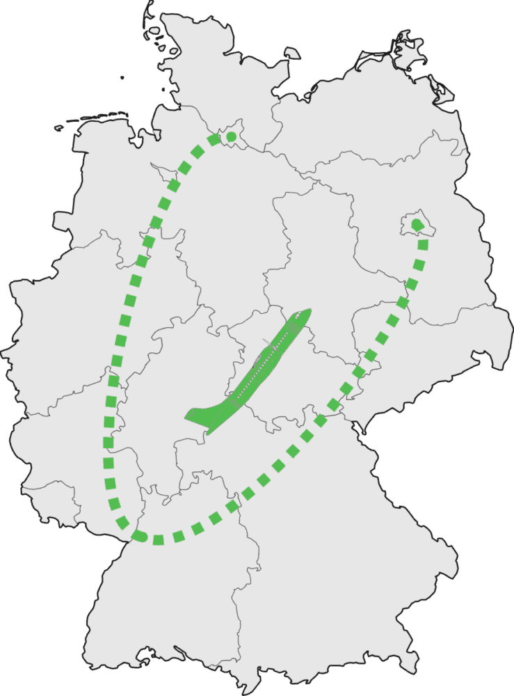 Green Airlines routes
