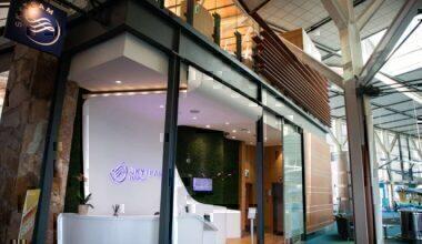 SkyTeam Vancouver lounge covid