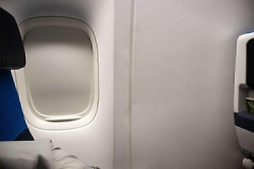 KLM 777 economy