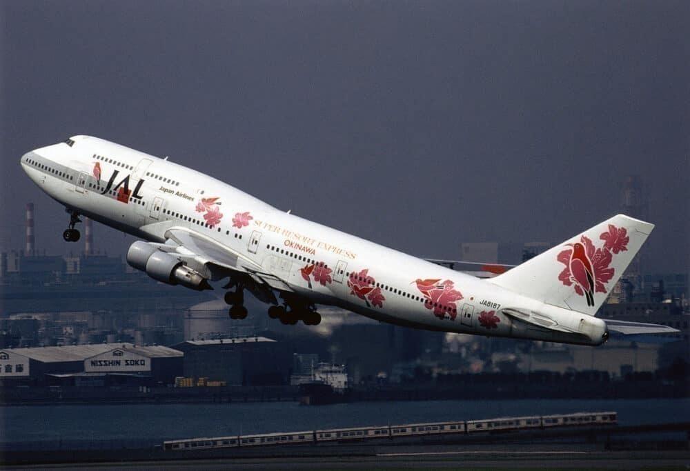 JAL 747-300SR