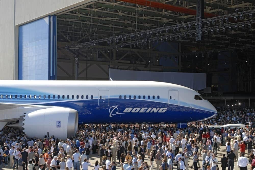 Boeing, First 787 Dreamliner, 13 Years