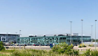 Liege Airport passenger terminal