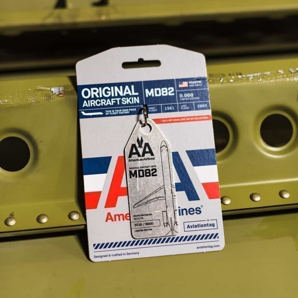 American Airlines, MD-80, Aviationtag