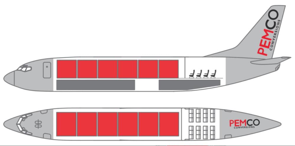 Configuração A PEMCO 737-700