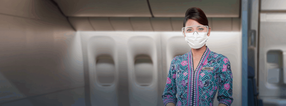 Malaysia Airlines Mask