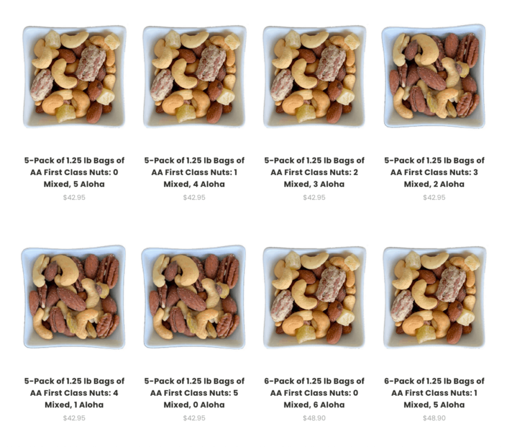 AA Nuts for sale