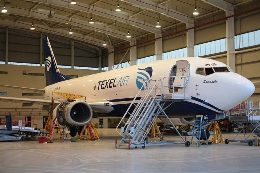 Texel Air is PEMCO's launch customer for B737-700CF