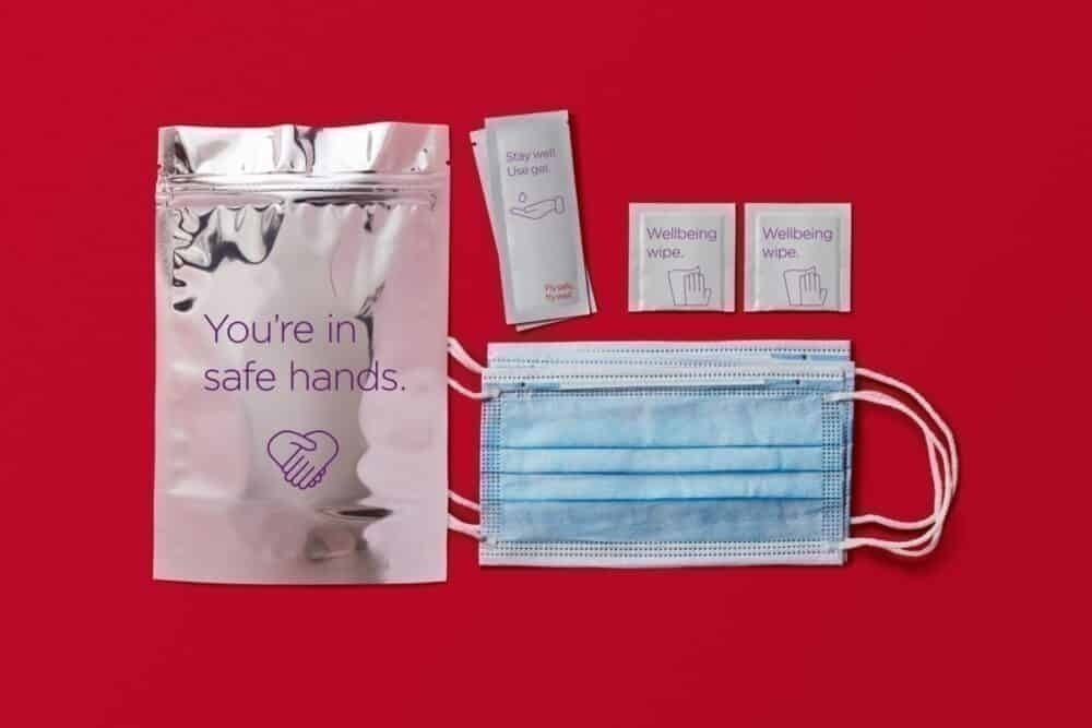 Virgin Atlantic Health Pack