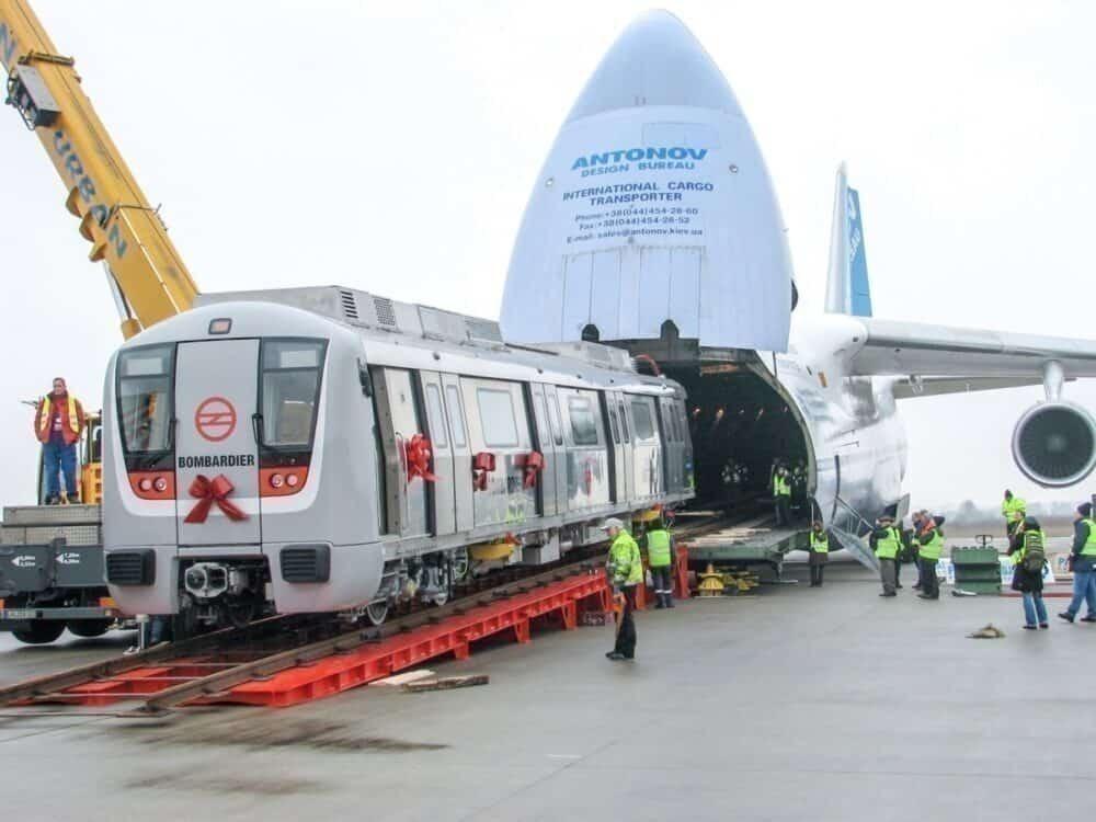 Bombardier metro car antonov An-124