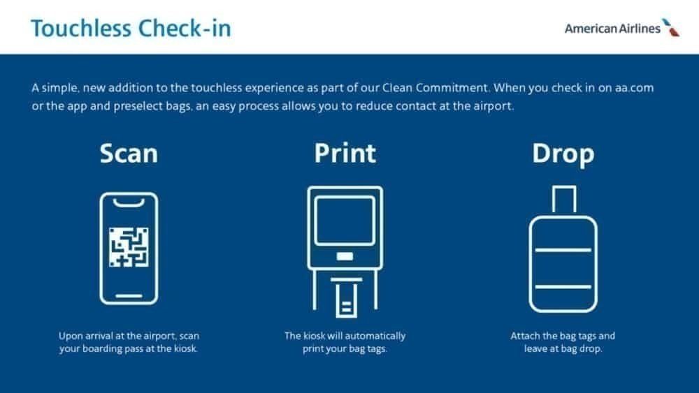Touchless check in