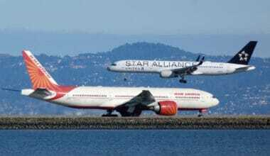 United 757 and Air India 777