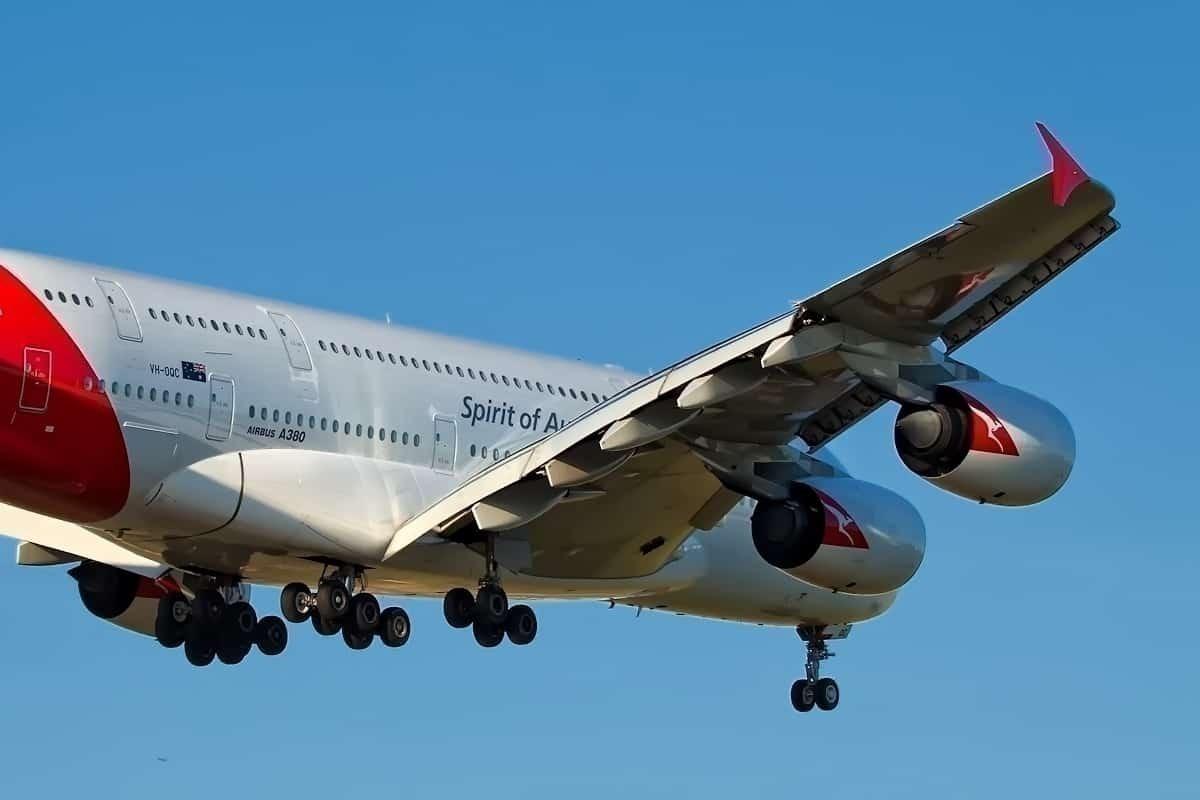 Qantas-A380-Mojave-desert-flights