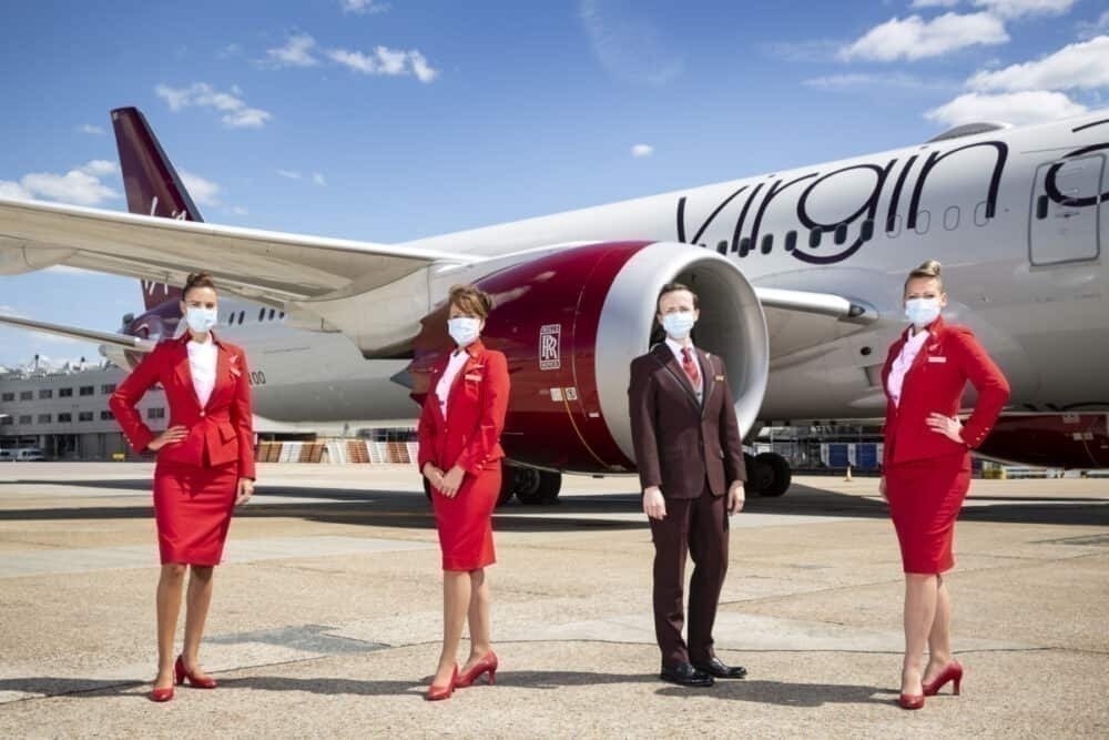 Virgin Atlantic resumes srevice