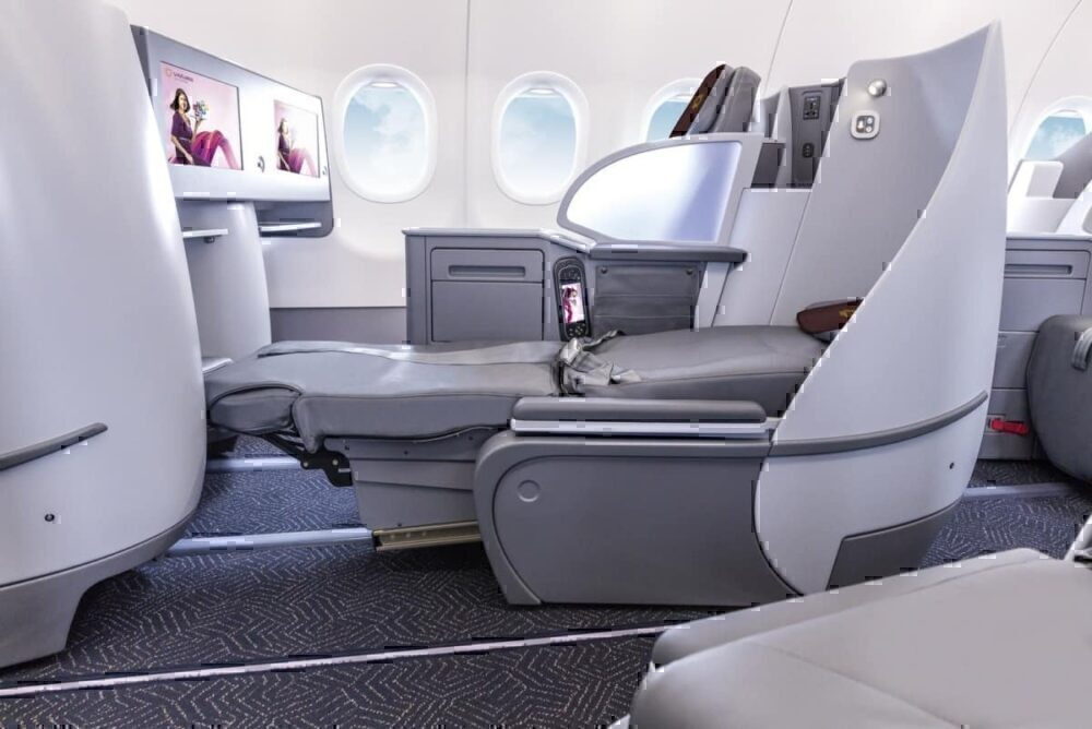 Vistara A321neo lie-flat business class