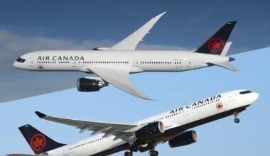 A330-787 Air Canada