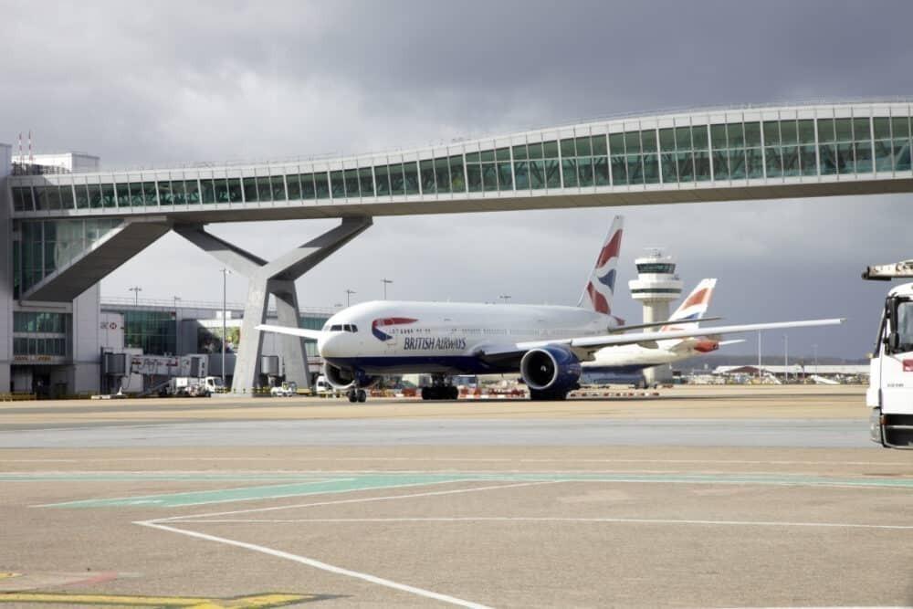 British Airways, Gatwick Airport, long haul