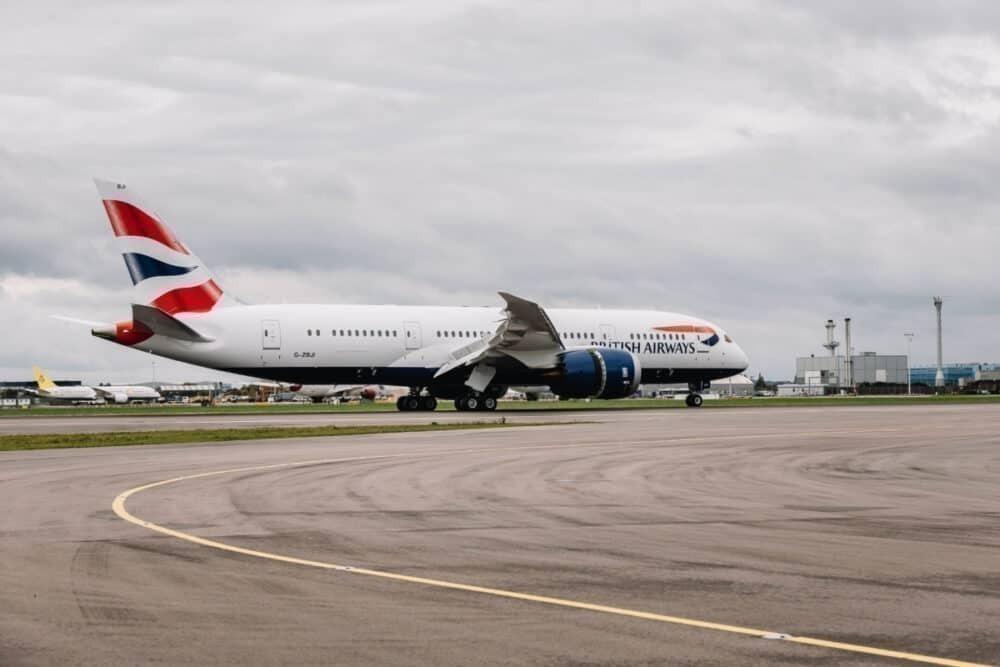 British Airways 787 Heathrow