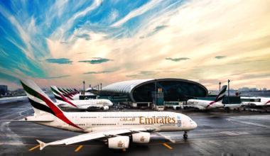 Concourse a at Dubai Airport