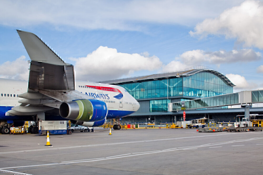 American Airlines, Heathrow Airport, Terminal 5
