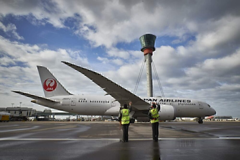 Japan Airlines, oneworld, London Heathrow