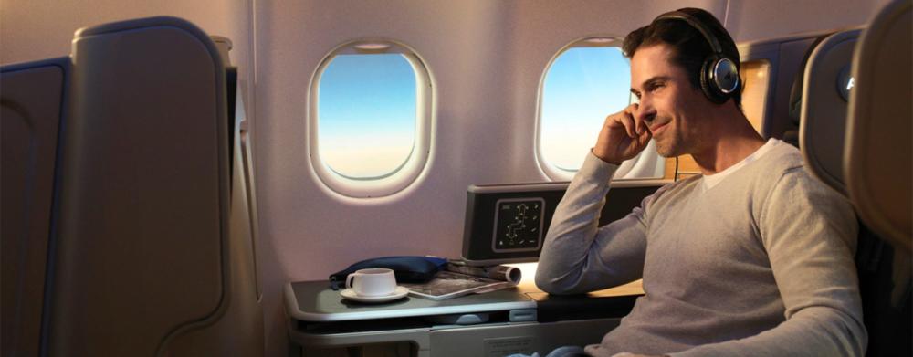 Qantas A330 buisness