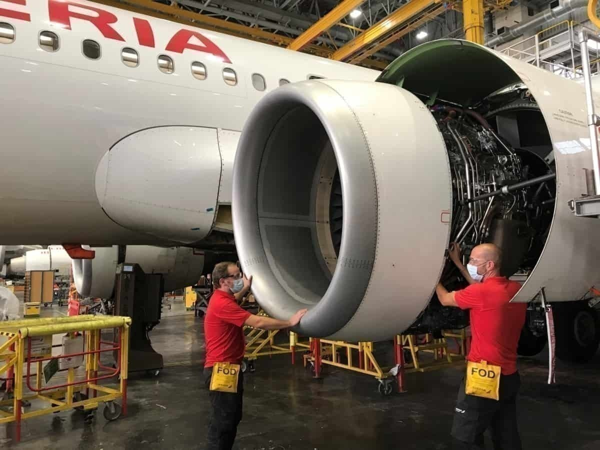 Iberia engine