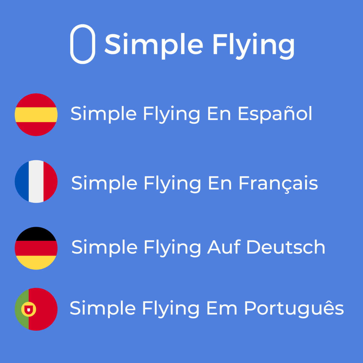 Simple Flying Launches In 4 New Languages