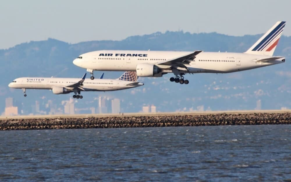 United and Air France
