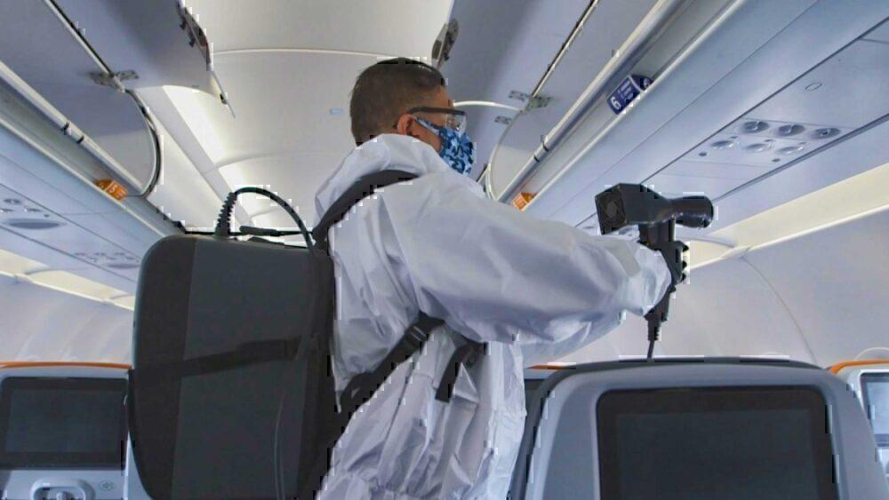 JetBlue spraying