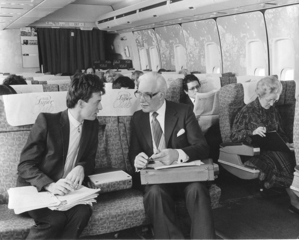 British Airways premium cabin