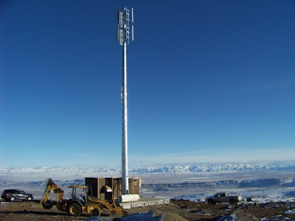 Gogo inflight WiFi towers