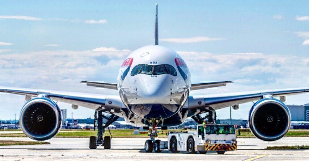 British Airways, Airbus A350, One Year