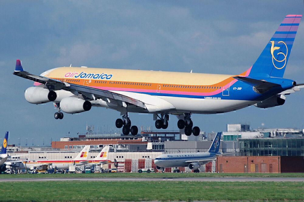 Air Jamaica take off