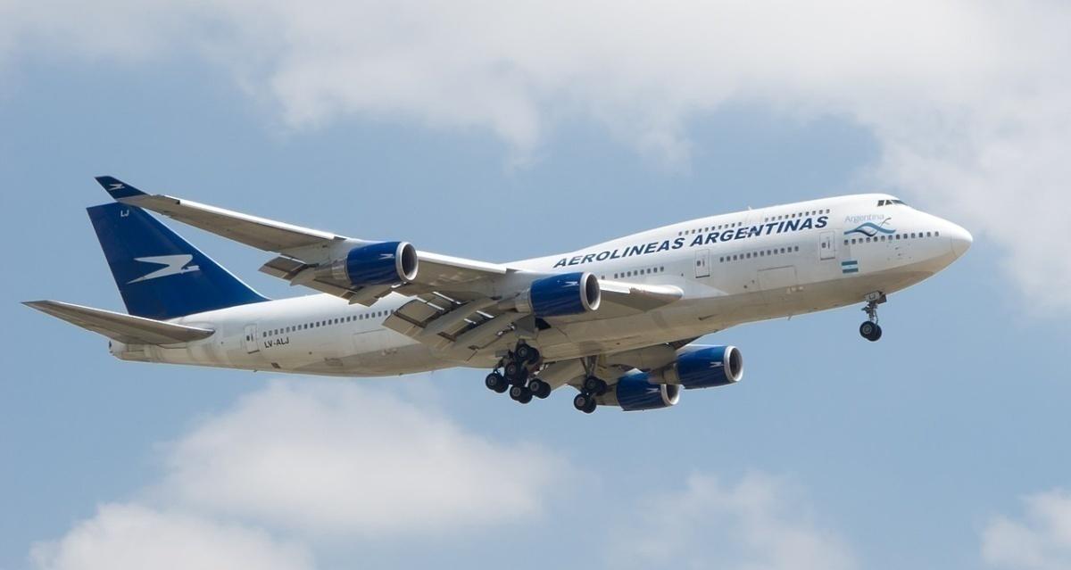 Aerolíneas Argentinas 747