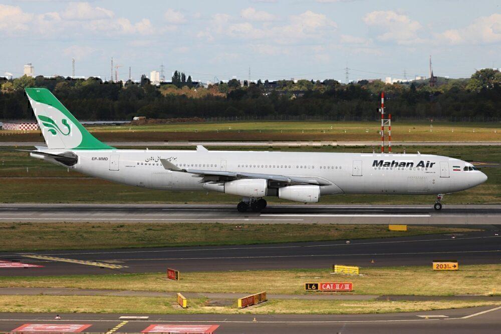 A340-300 mahan