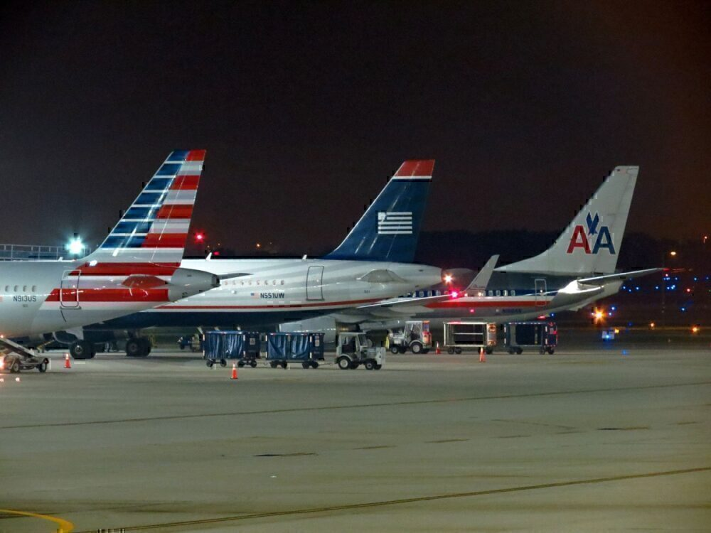 US Airways and AA