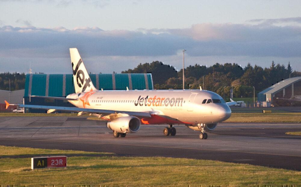 Jetstar A320 Auckland NZ