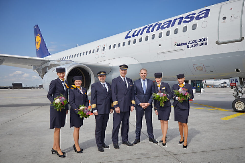Lufthansa, Upcycling, Airbus A320