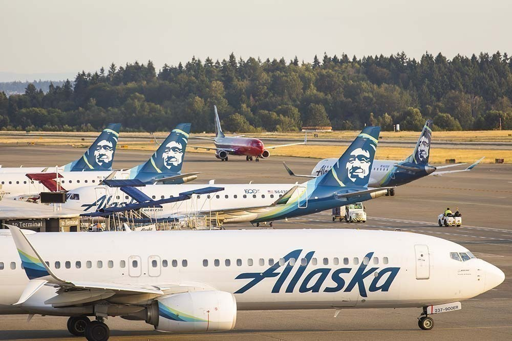 Alaska Airlines Grew Passenger Numbers Over 150% From May To July