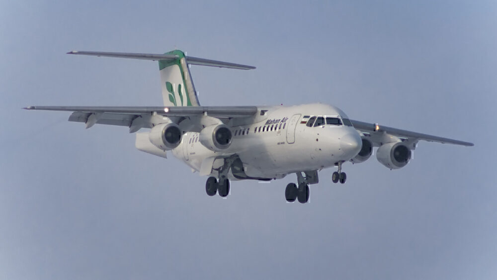Mahan Air BAe 146
