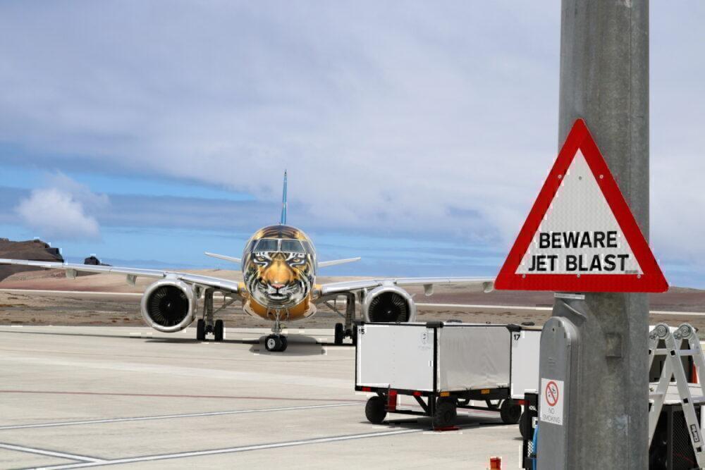 Embraer at Saint Helena Airport