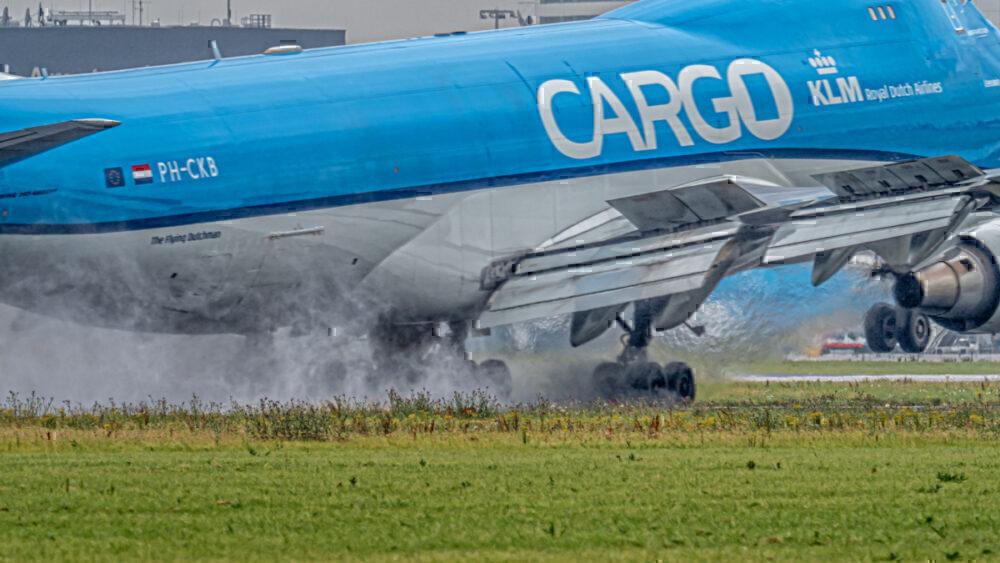 KLM 747 Cargo
