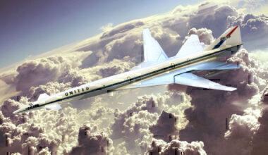 United Concorde SST Boeing 2707