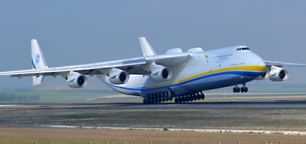 AN 225 take-off