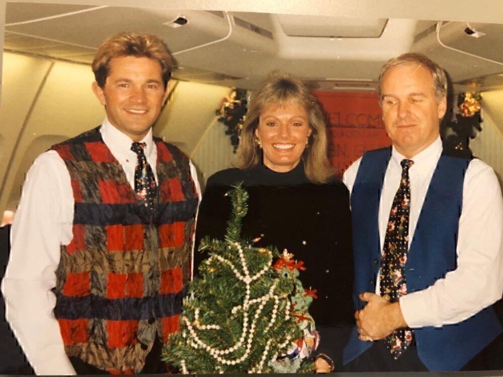 British Airways, Boeing 747, Delivery Flight