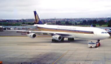 A340 singapore airlines