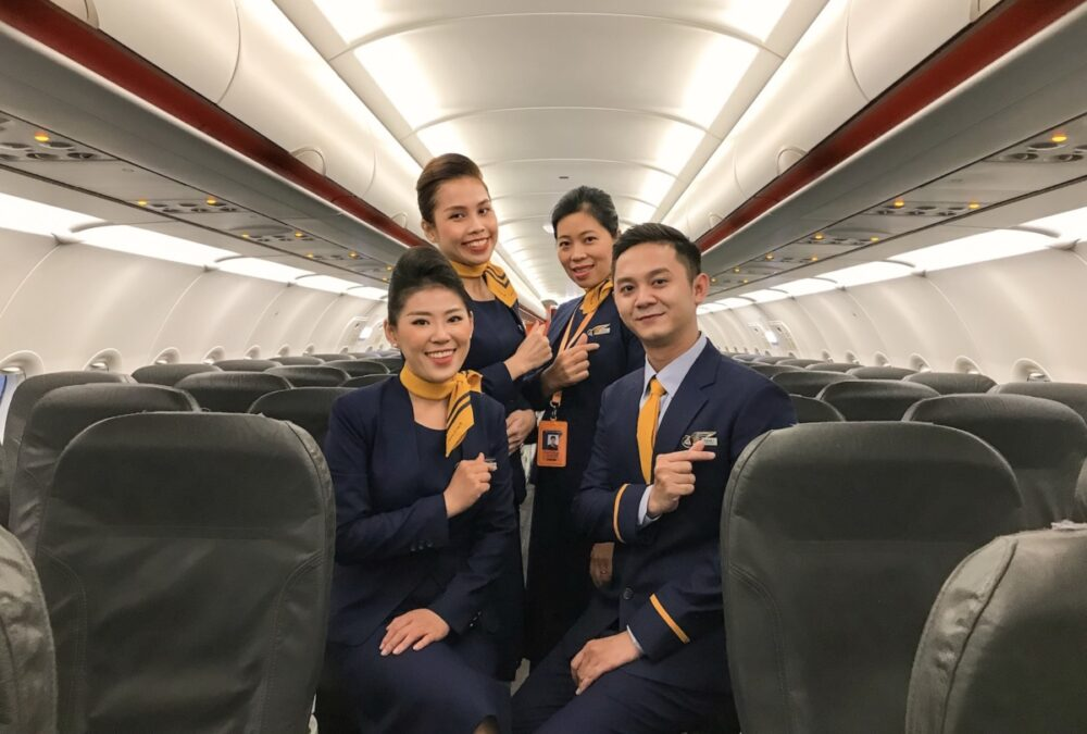 Pacific Airlines crew