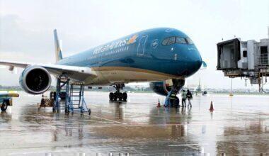 Vietnam Airlines A350 Da Nang