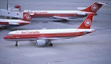 Air Canada a320 1989